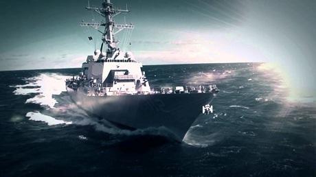 Tàu khu trục tải trọng 9.200 tấn USS Michael Murphy. (Ảnh: