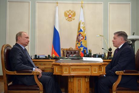 Hình ảnh của ông Putin trong đoạn phim hôm qua. (Ảnh: