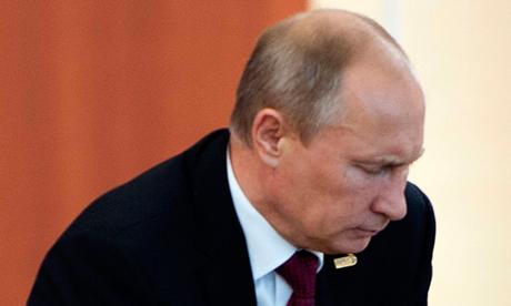 Sự vắng bóng của Tổng thống Nga Vladimir Putin đang khiến dư luận xôn vao. (Ảnh: