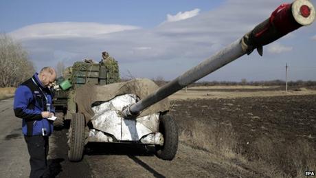 Phe ly khai Ukraine đã rút toàn bộ vũ khí, quân chính phủ chưa động tĩnh