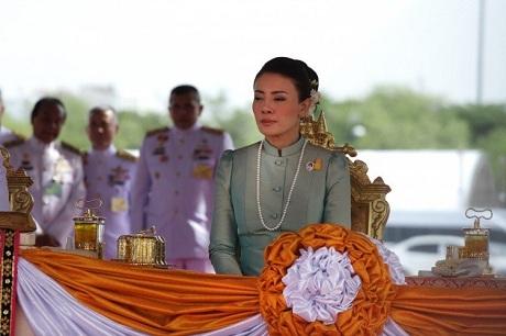 Cựu vương phi Thái Lan Srirasmi Suwadee (Ảnh: