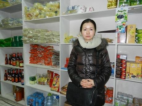 Cô gái Nga mang trong mình nửa dòng máu Việt Rudnova Anhia Khanhevna. (Ảnh: