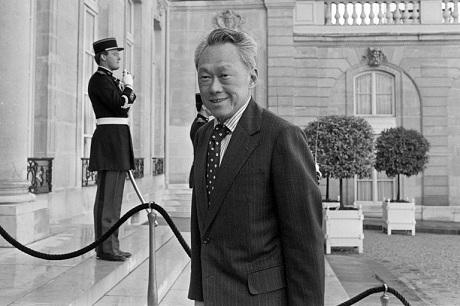 Ông Lý Quang Diệu, là một nhà lãnh đạo xuất chúng. V