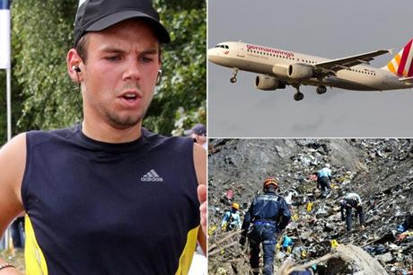 Cơ phó máy bay 4U9525 của Germanwings, Andreas Lubitz. (Ảnh: