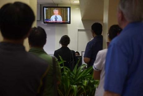 Người dân Singapore nghẹn ngào trước sự ra đi của ông Lý Quang Diệu