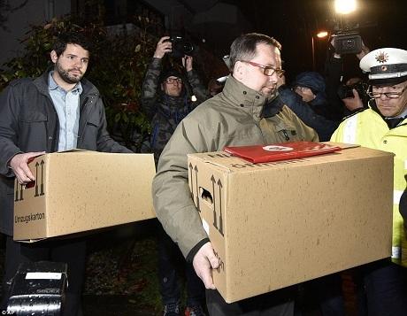 Cảnh sát Đức chiều qua 26/3 đã khám xét căn nhà của cơ phó Andreas Lubitz. (Ảnh: