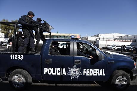 Các cảnh sát liên bang Mexico. (Ảnh: