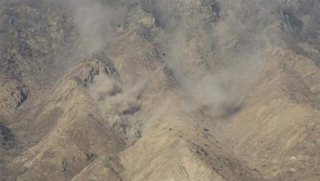 Hình ảnh chụp tại trường bắn Pocheon, gần biên giới với Triều Tiên.