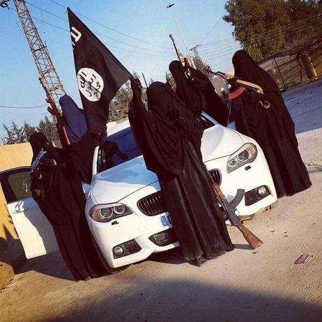 Hơn 70 phụ nữ Đức rời bỏ quê hương, gia nhập IS. (Ảnh minh họa: