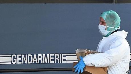 Đội tìm kiếm đã xác định được ADN của 78 nạn nhân máy bay Đức. (Ảnh: