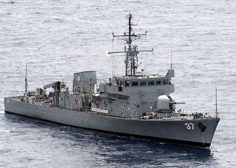 TàuBRP Artemio Ricarte của hải quân Philippines. (Ảnh:
