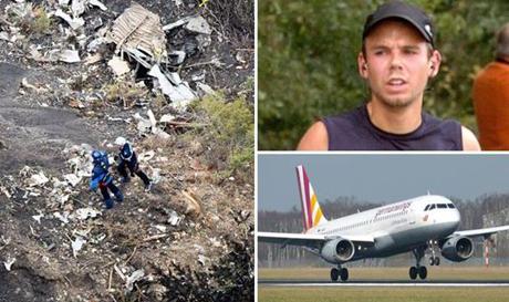 Báo chí Đức và Pháp đưa tin về một đoạn video quay những phút cuối trên máy bay Germanwing. (Ảnh: