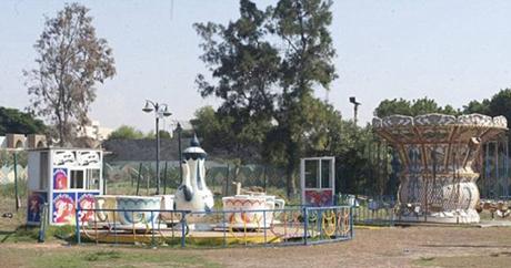 Một góc khu vui chơi trong cung điện của ông Gaddafi.