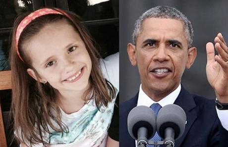 Bé Sofia (trái) đã viết thư cho Tổng thống Barack Obama và nhận được hồi âm. (Ảnh: Time)