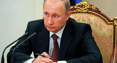 Tổng thống Nga Vladimir Putin . (Ảnh: