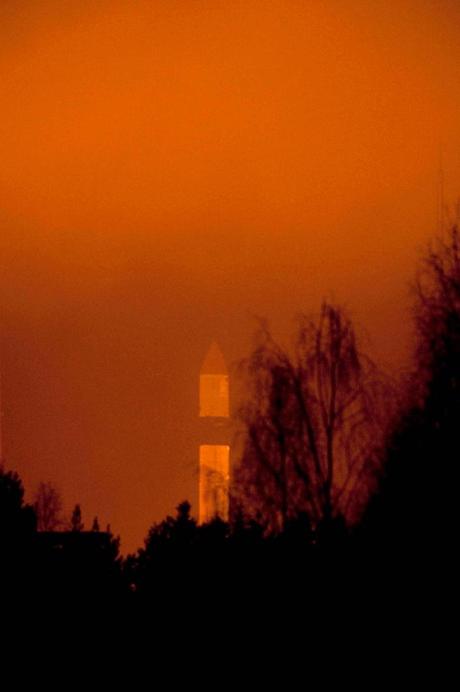 Một tên lửa được phóng thử từ trạm không gian Plesetsk, Nga. (Ảnh: