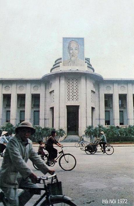 Trụ sở Ngân hàng Nhà nước Việt Nam năm 1972.