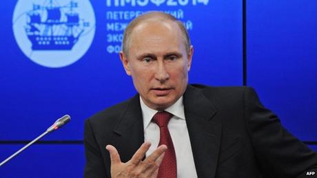 Tổng thống Putin tuyên bố sẵn sàng hợp tác với Mỹ. (Ảnh: