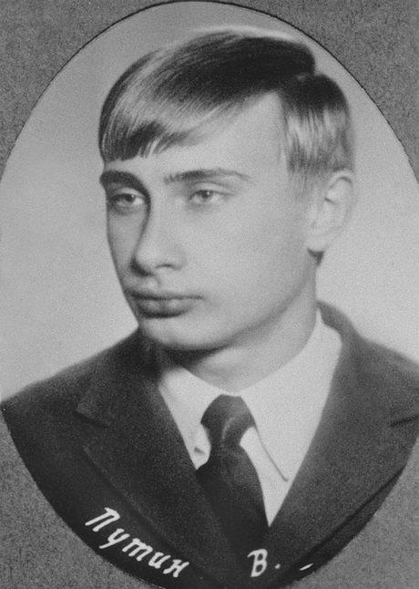 Ảnh chụp Vladimir Putin, 18 tuổi,tại thành phố St. Petersburg năm 1970