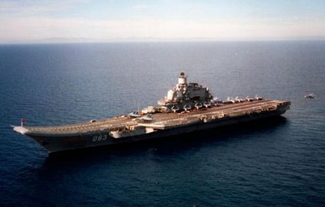 Một tàu sân bay của Nga (Ảnh minh họa: