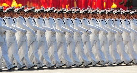 Quân đội nhân dân Trung Quốc. (Ảnh: