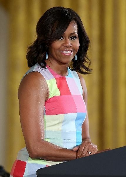 10. Đệ nhất phu nhân Mỹ Michelle Obama.
