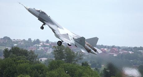 Máy bay Sukhoi PAK FA (Ảnh: