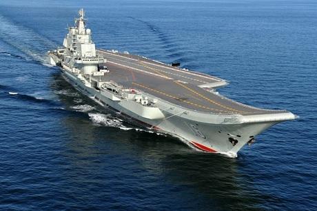 Tàu sân bay Liêu Ninh của Trung Quốc. (Ảnh: