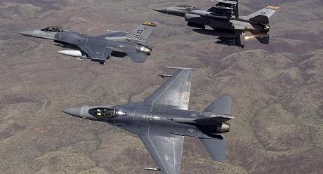 Không quân Mỹ tính trang bị vũ khí laser cho chiến đấu cơ. (Ảnh: