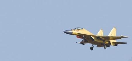 Một chiếnđấu cơđa năng J-16 của Trung Quốc. (Ảnh: