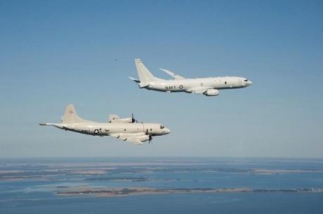 Máy bay tuần tiễu P8-A của Hải quân Mỹ. (Ảnh: