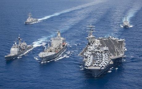 Hạm đội 7 Thái Bình dương Mỹ.