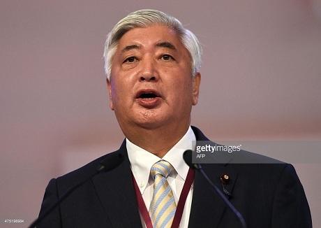 Bộ trưởng Quốc phòng Nhật Bản Gen Nakatani. (Ảnh: