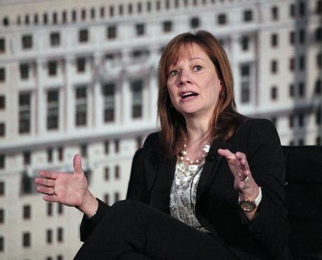 5. CEO của General Motors, bà Mary Barra.