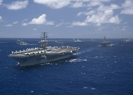 Hạm đội 3 Hải quân Mỹ trong tập trận RIMPAC.