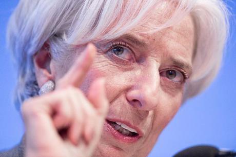 6. Bà Christine Lagarde, giám đốc quản lý Quỹ Tiền tệ quốc tế IMF.