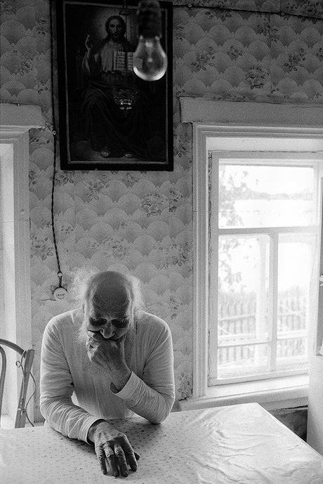 Bức ảnh chụp Trưởng tu viện tại làng Belyaevo, huyện Kiknur, Nga vào tháng 6/2010. (Ảnh: