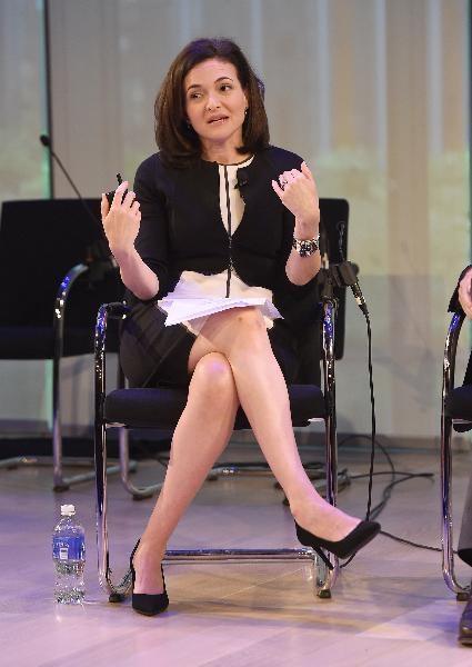 8. Bà Sheryl Sandberg, Giám đốc điều hành Facebook.