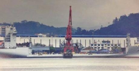 Hình ảnh cho rằng Trung Quốc đang phát triển tàu đổ bộ thế hệ mới. (Ảnh: