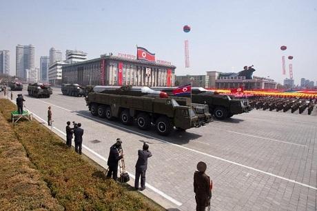 Triều Tiên tuyên bố thu nhỏ được đầu đạn hạt nhân. (Ảnh: