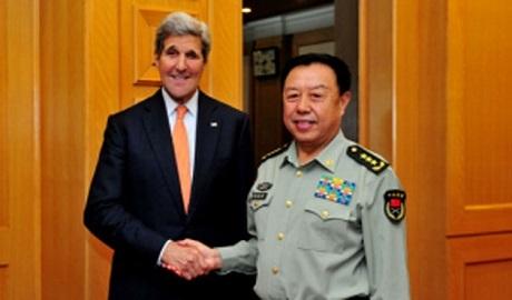 Tướng Trung Quốc thăm Mỹ giữa căng thẳng Biển Đông