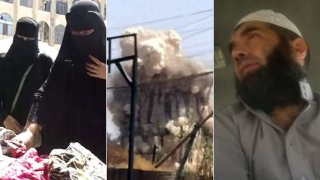 Đoạn video đã hélộ cảnh thảm khốc bên trong thành trì của IS. (Ảnh: