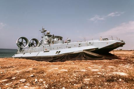 Hình ảnh của tàu đổ bộ khổng lồ H1183 của Hải quân Trung Quốc. (Ảnh:
