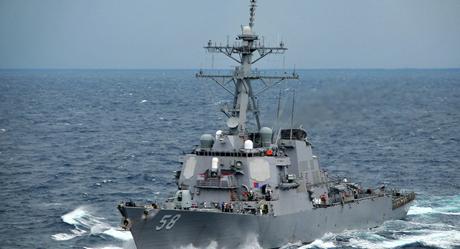 Tàu khu trục tên lửa USS Laboon. (Ảnh: