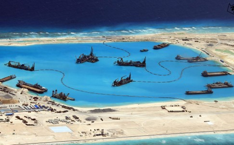 Bắc Kinh nói các công trình trên Biển Đông phục vụ công tác nghiên cứu khí tượng. (Ảnh: