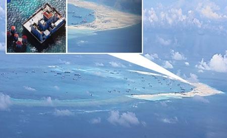 Mỹ nhấn mạnh lo ngại Trung Quốc quân sự hóa các tiền đồn trên Biển Đông