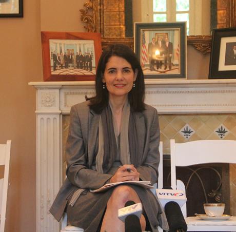 Đại sứNina Hachigian: Cuối năm nay là một dấu mốc quan trọng cho dự án AEC. (Ảnh: