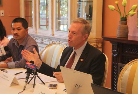 Đại sứ Ted Osius:Việt Nam đã thay đổi rất nhiều sau 20 năm. (Ảnh:
