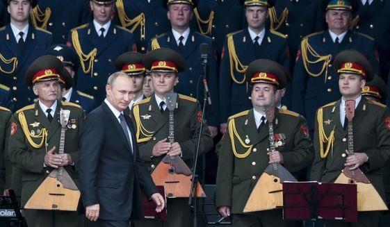 Tổng thống Nga Vladimir Putin (Ảnh: