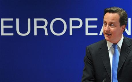 Thủ tướng Anh David Cameron (Ảnh: